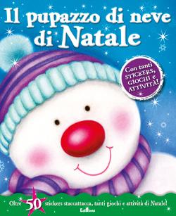 Il pupazzo di neve di Natale - Stickersimpara di Natale