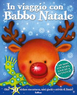 In viaggio con Babbo Natale - Stickersimpara di Natale