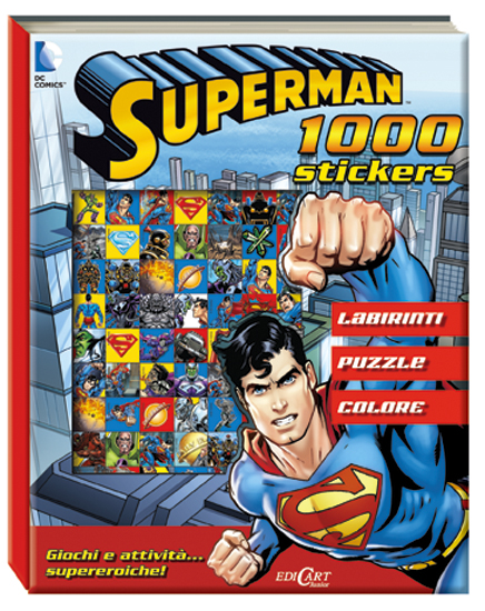 Superman 1000 stickers