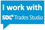 I work with SDL*Trados Studio